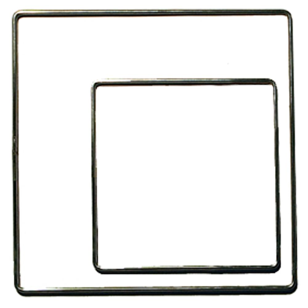 Metallrahmen quadratisch verzinkt