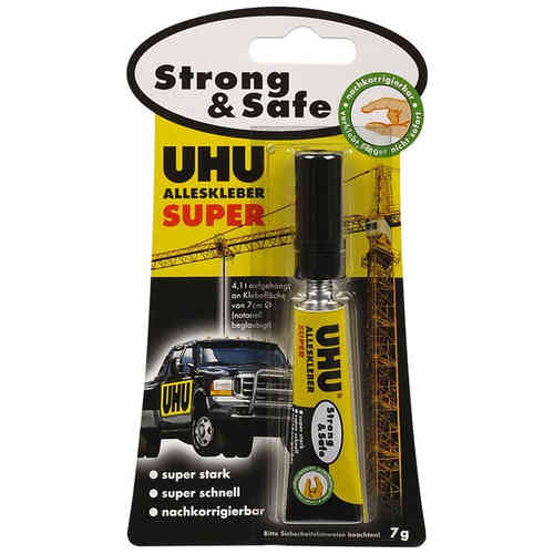 UHU Alleskleber Super Strong & Safe 7 g