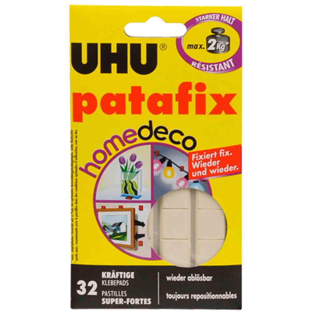 UHU patafix homedeco 20 kräftige Klebepads