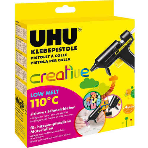 UHU Klebepistole creative low melt 110°C