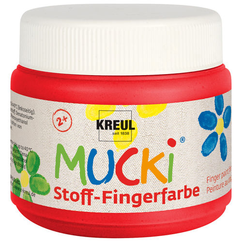 MUCKI Stoff-Fingerfarbe 150 ml
